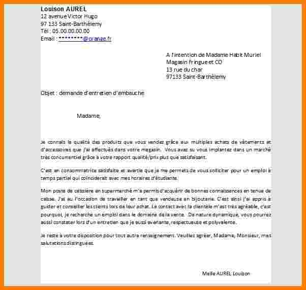 lettre de motivation suisse candidature spontan u00e9e