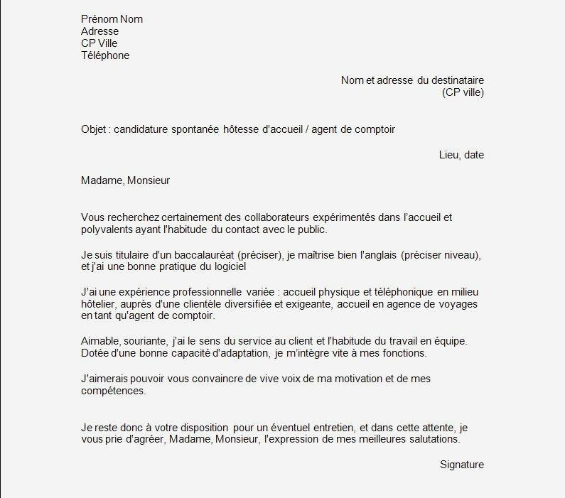 lettre de motivation candidature spontan u00e9e sncf