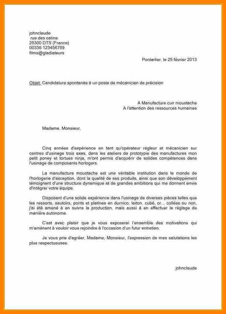 lettre de motivation operateur raffinerie