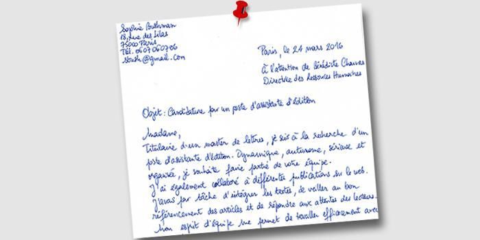 lettre de motivation utile