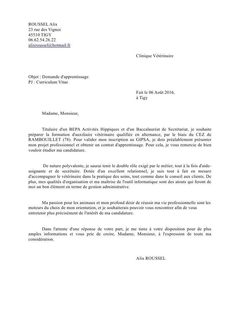lettre de motivation asct sncf
