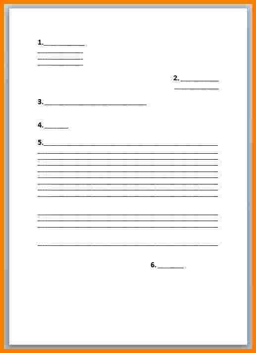 trame de lettre de motivation manuscrite