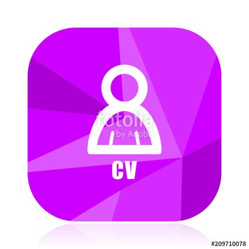 logo curriculum vitae violet