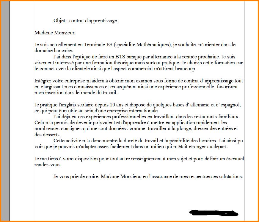 lettre de motivation maintenance industrielle en