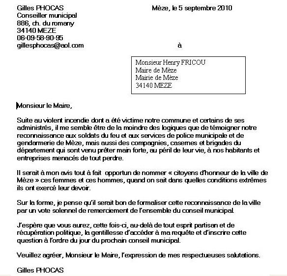 Lettre De Motivation Chef De Projet Communication Unique: Lettre De Motivation Adressée Au Maire