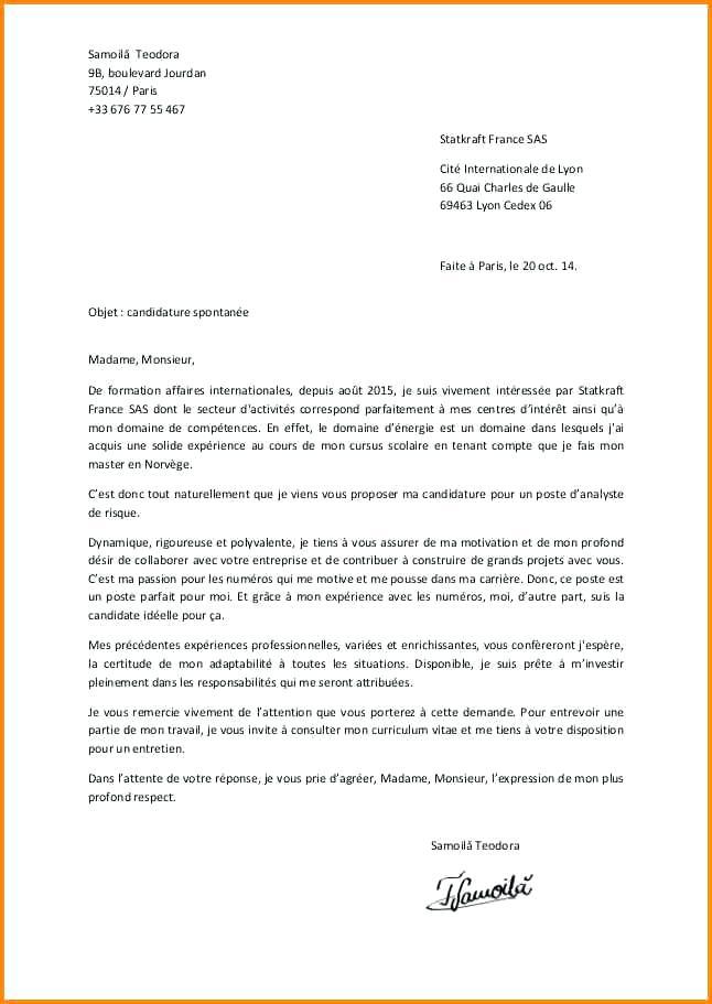 lettre de motivation assistant comptable