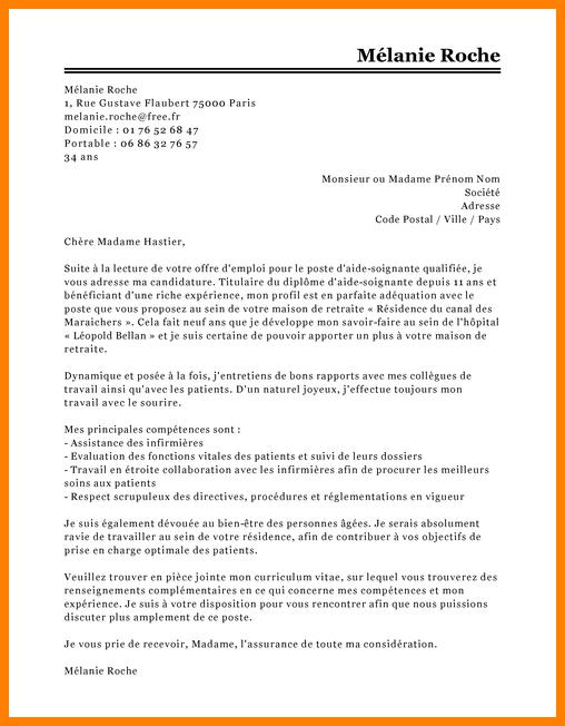 lettre de motivation infirmiere pediatrie