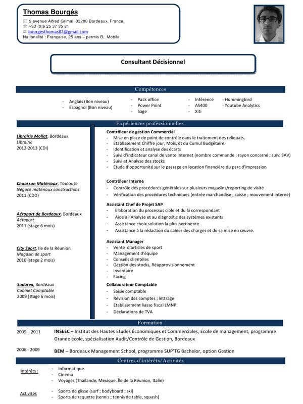 Exemple de cv aide comptable débutant - laboite-cv.fr