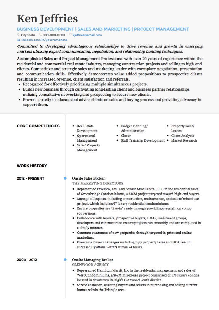 profil curriculum vitae