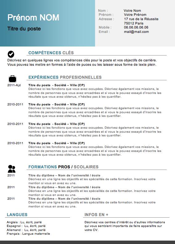 Exemple de cv jeune etudiant - laboite-cv.fr