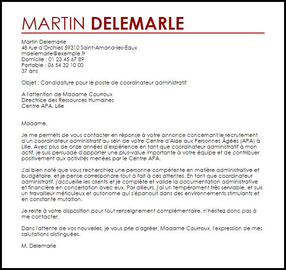 lettre de motivation gestionnaire financier et comptable