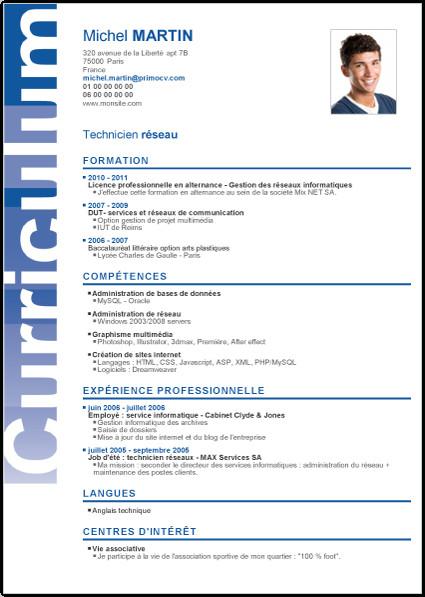 Exemple de cv europass étudiant economie - laboite-cv.fr