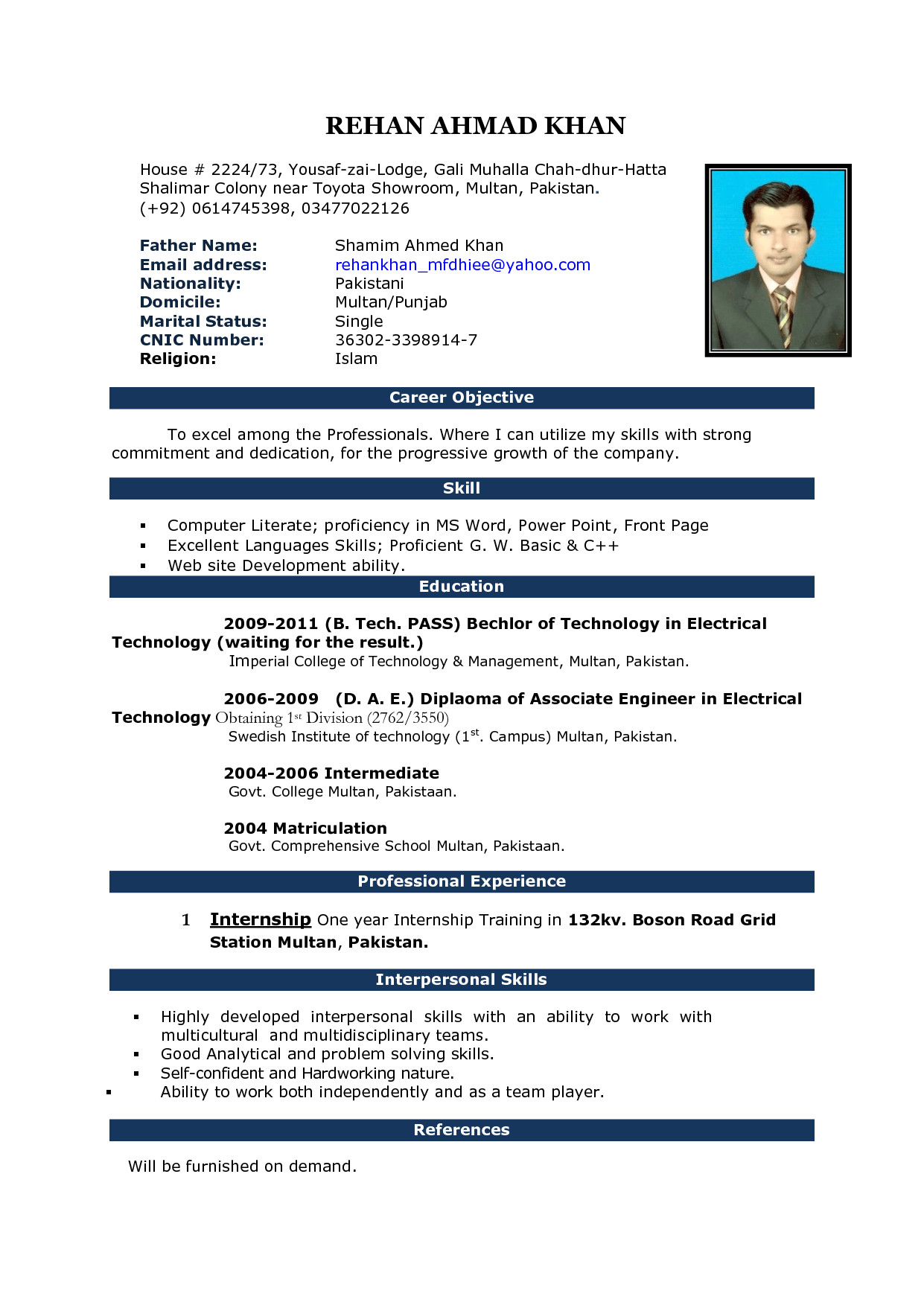 Teachers Curriculum Vitae on high school, formato de, resume or, what is, ejemplos de,