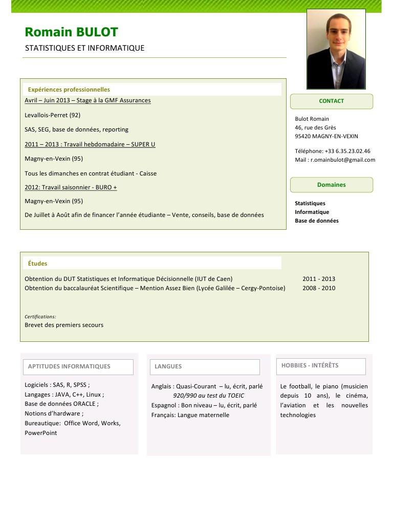 Exemple de cv europass ingénieur génie civil pdf - laboite ...