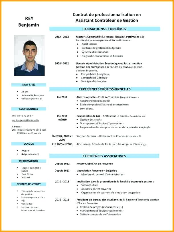 exemple curriculum vitae ma u00e7on