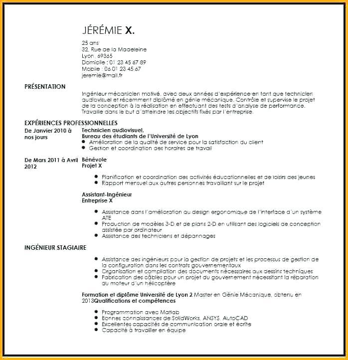 Exemple de cv assistant ingénieur - laboite-cv.fr