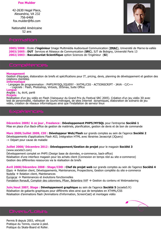 exemple de cv ing u00e9nieur g u00e9nie civil pdf
