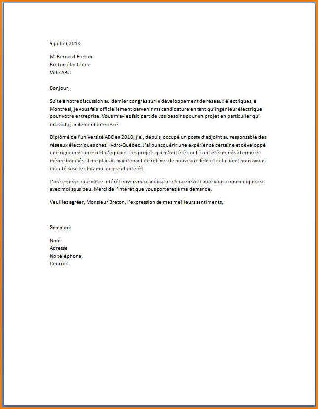 modele lettre de motivation serveuse