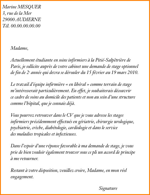 lettre de motivation stage cr u00e8che