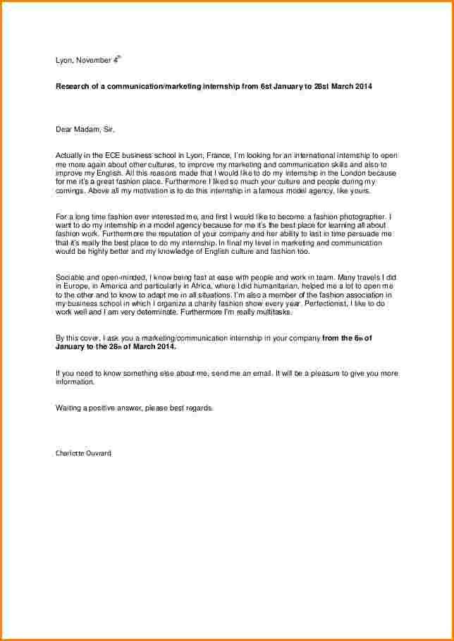fin lettre de motivation anglais