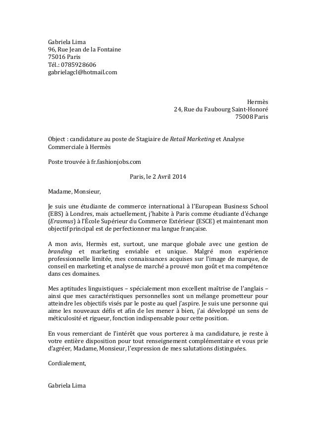 lettre de motivation en anglais classe europ u00e9enne