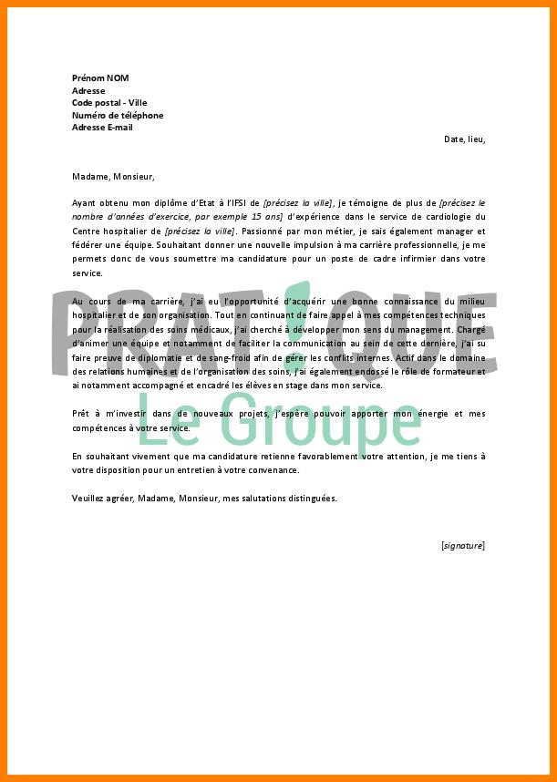 Lettre de motivation infirmier psychiatrie - laboite-cv.fr
