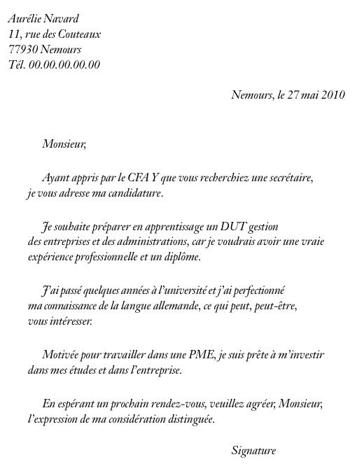 lettre de motivation job d  u00e9t u00e9 16 ans