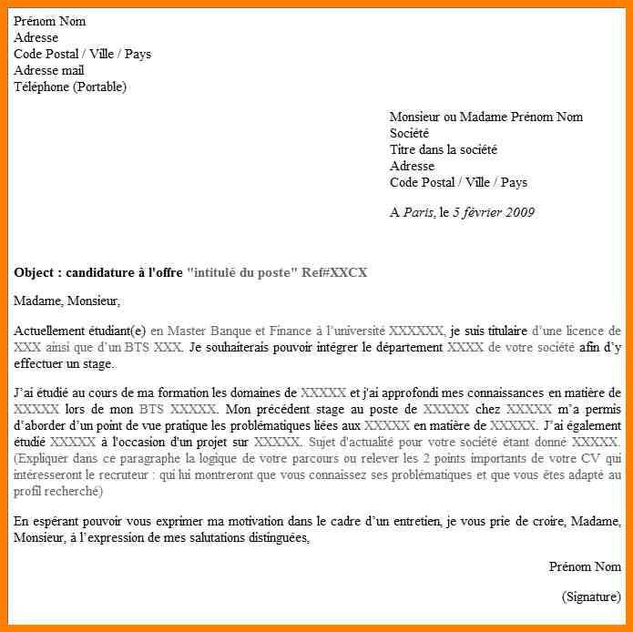 Lettre De Motivation Gratuite Agent D Exploitation Des: Exemple De Lettre De Motivation Pour Boite D Interim