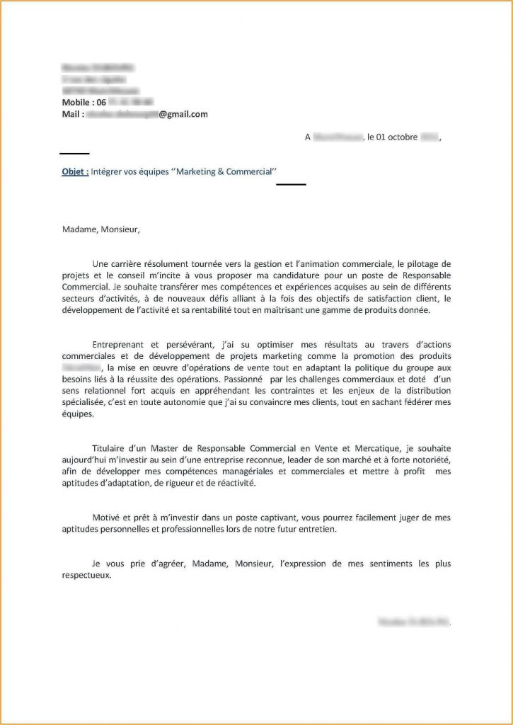 lettre de motivation agent communal sans experience