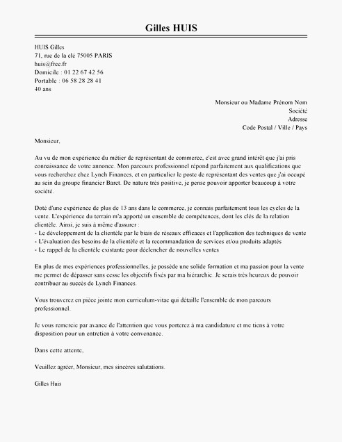 lettre de motivation sans qualification