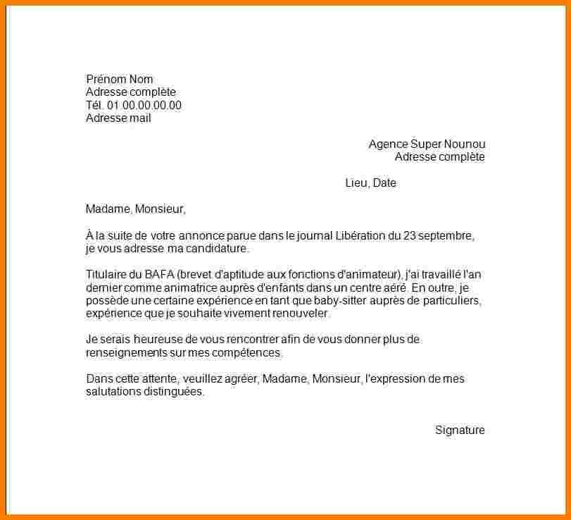 lettre de motivation animatrice p u00e9riscolaire debutant