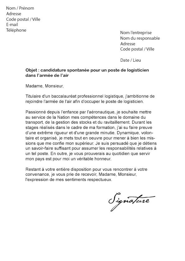 lettre de motivation officier marine nationale