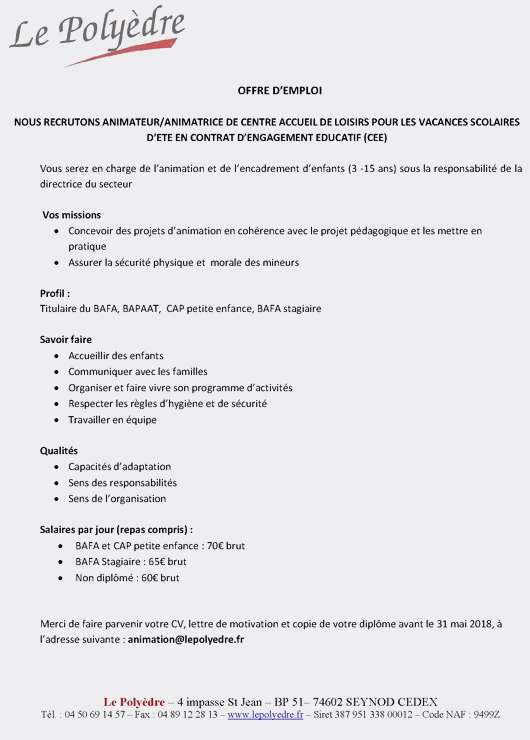 Modele de lettre de motivation avs scolaire - laboite-cv.fr