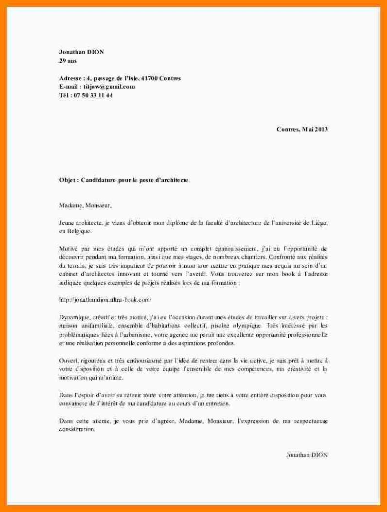 lettre de motivation stage conducteur de bus