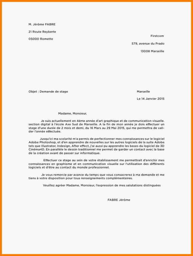 lettre de motivation commerce vente