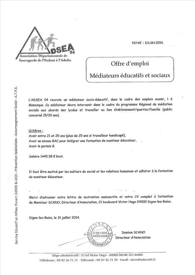 lettre de motivation aide sociale  u00e0 l u0026 39 enfance