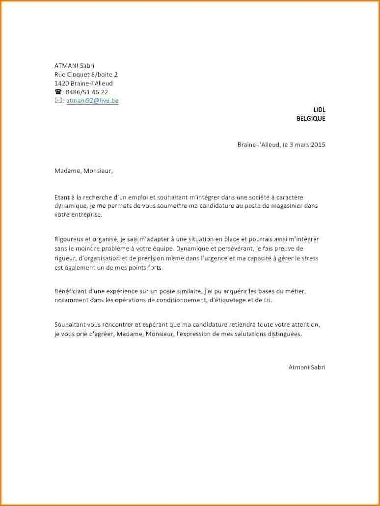 lettre de motivation hote de caisse sans experience