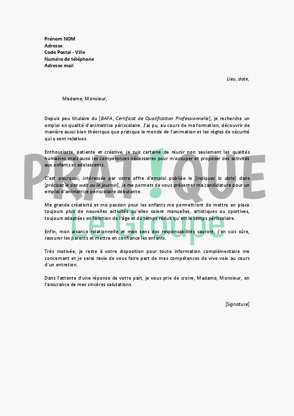lettre de motivation jardinier mairie