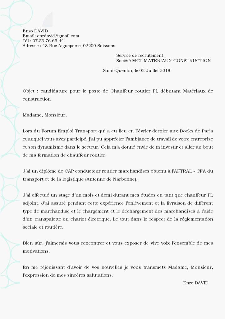 lettre de motivation licence miashs