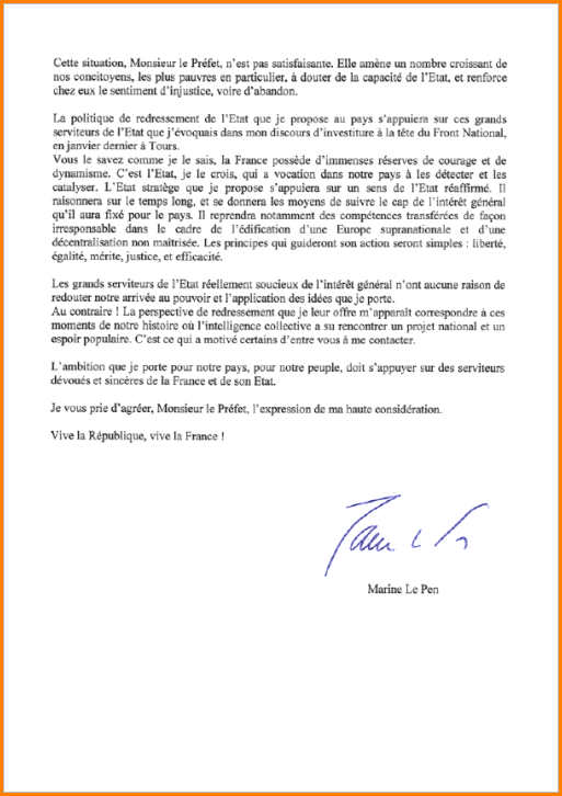 lettre de motivation pour la marine national