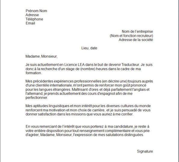 Exemple Lettre De Motivation Chef De Projet Industriel: Lettre De Motivation Macdonald Debutant