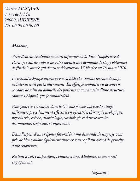 lettre de motivation ifsi infirmier