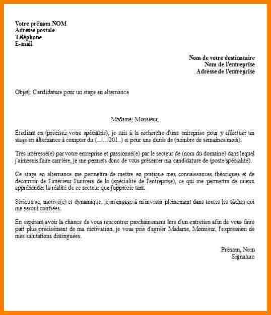 lettre de motivation iae master