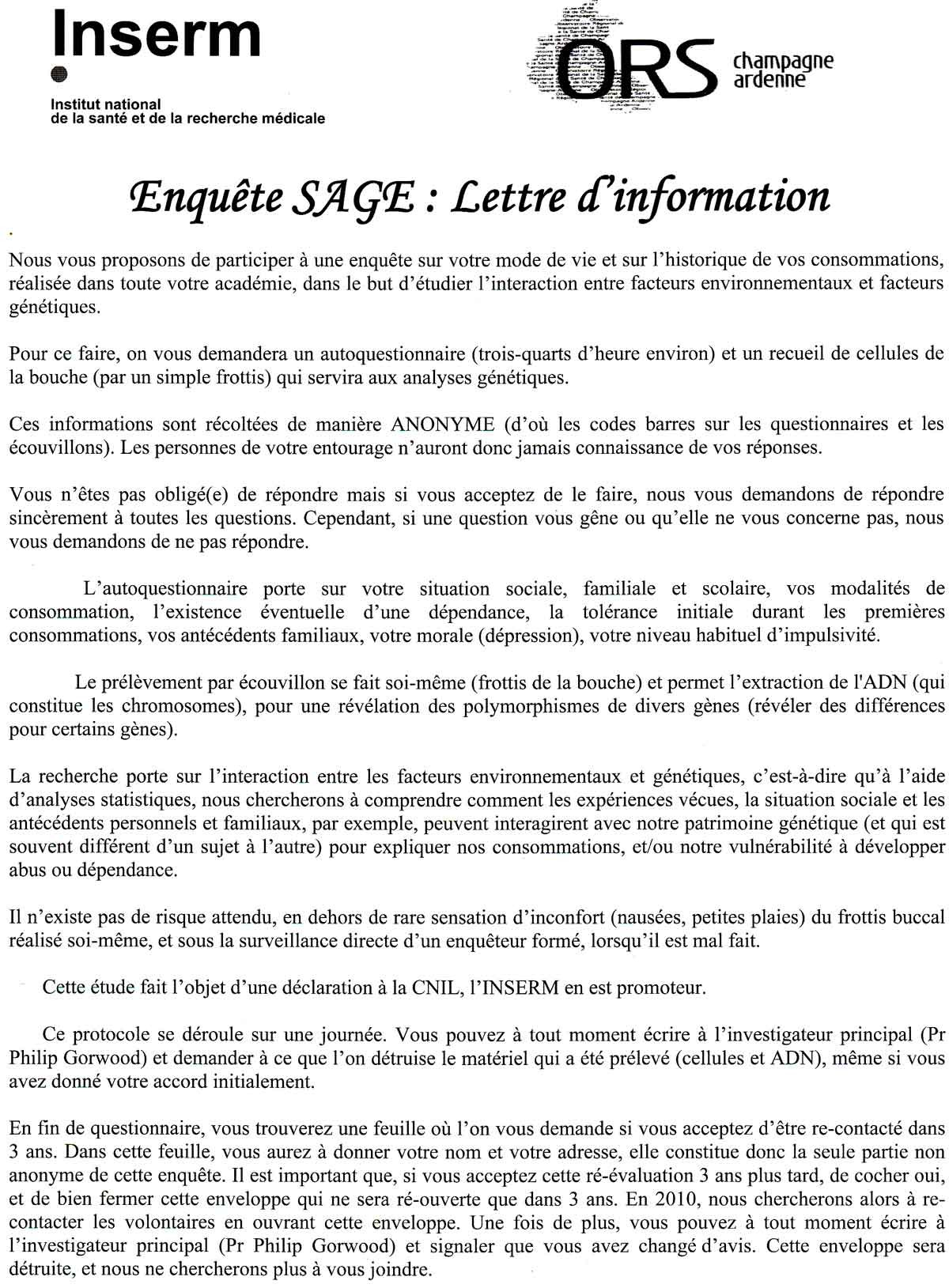 lettre de motivation stage recherche scientifique