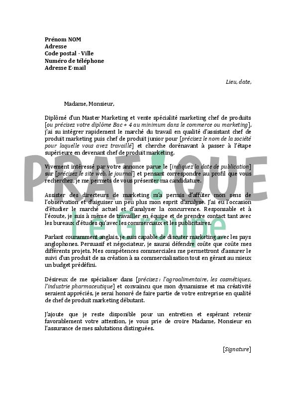 lettre de motivation laboratoire pharmaceutique