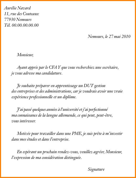 lettre de motivation pas d u0026 39 exp u00e9rience