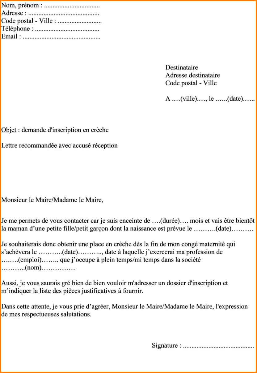 lettre de motivation sans adresse destinataire