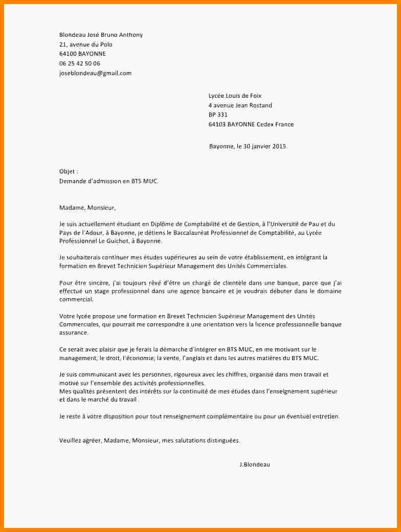 lettre de motivation bts nrc en alternance