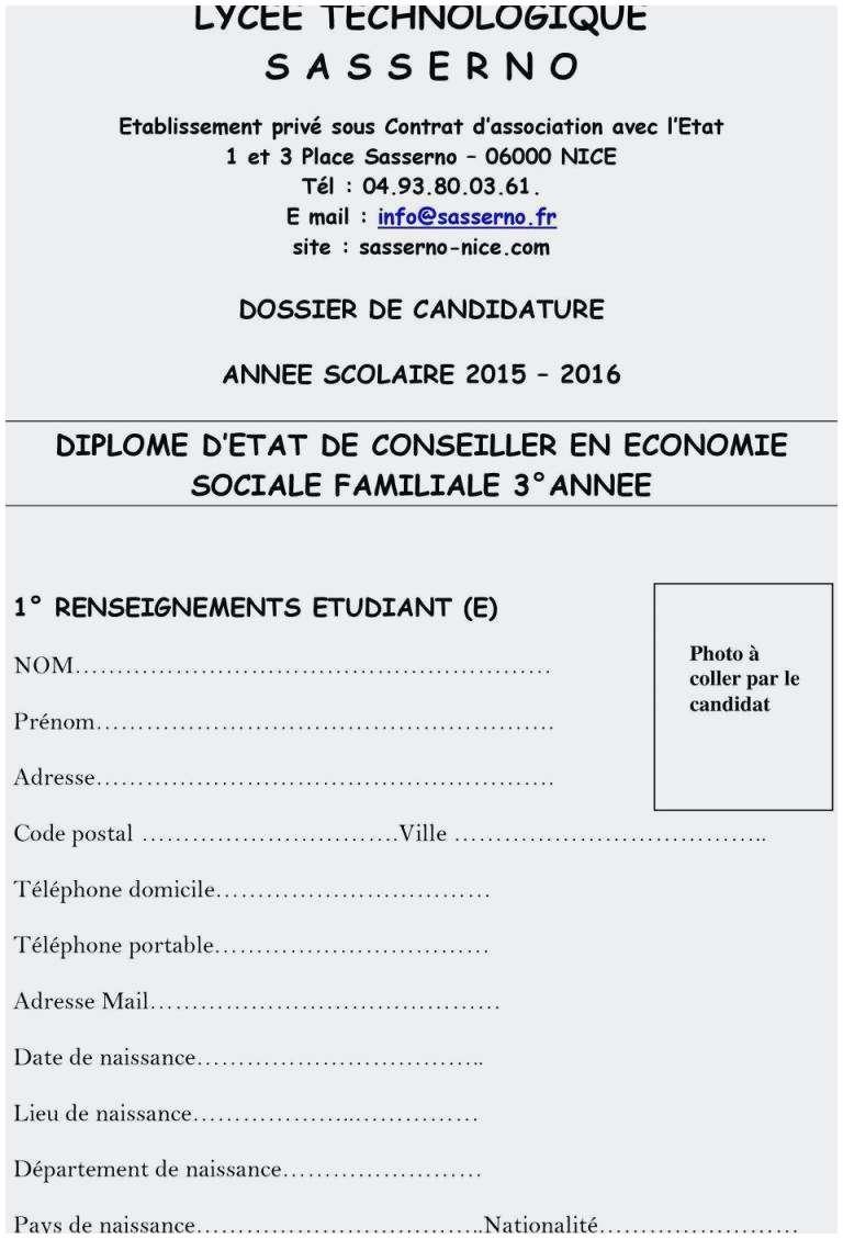 lettre de motivation bts services economie sociale