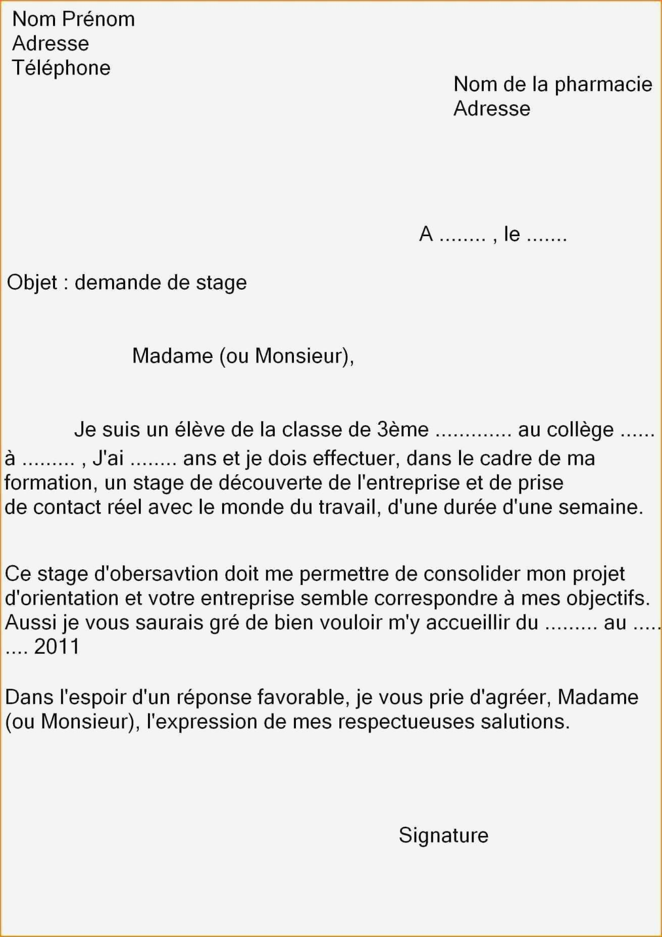 lettre de motivation inscription college